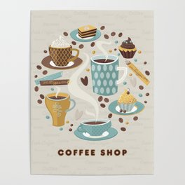 Coffee Shop Poster