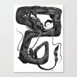 Dragon B Canvas Print