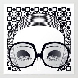Catarina Close Art Print