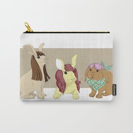 Hares In Wigs Carry-All Pouch