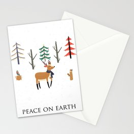 Peace On Earth Stationery Cards