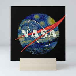 Starry Nasa Mini Art Print