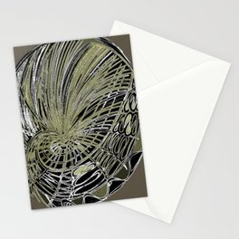 abstrato Stationery Cards