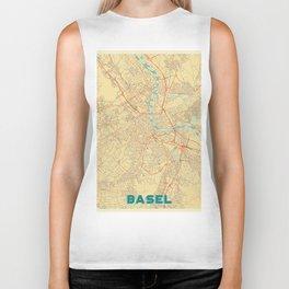Basel Map Retro Biker Tank