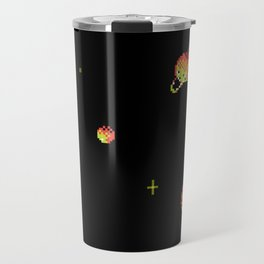 SATURN AND ASTEROIDS Travel Mug