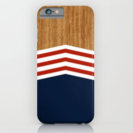 Vintage Rower Ver. 3 iPhone Case
