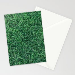 Green Grassy Texture // Real Grass Turf Textured Accent Photograph for Natural Earth Vibe Stationery Cards