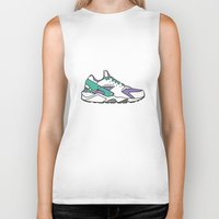sneakers Biker Tanks featuring SNEAKERS COLLECTION by Vincent Battault