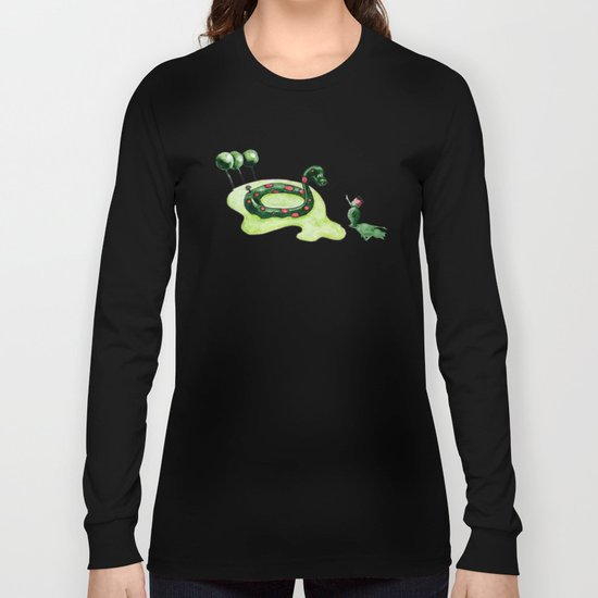 The Lake Monster Long Sleeve T-shirt