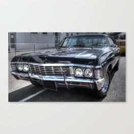 Impala - Supernatural Canvas Print