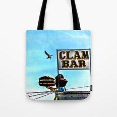 Coney Island Clam Bar Tote Bag