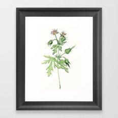 Flowers For Dad Framed Art Print
