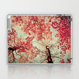 Autumn Inkblot Laptop & iPad Skin