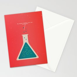My Beaker Bubbles For You  Stationery Cards