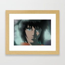 Motoko (Ghost in the Shell) Framed Art Print