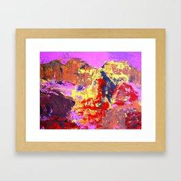 """""""when nothing else matters' Framed Art Print"""