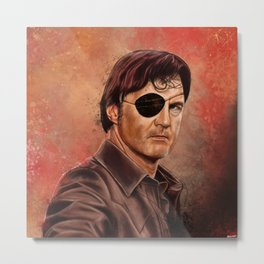 The Walking Dead - Governor  Metal Print