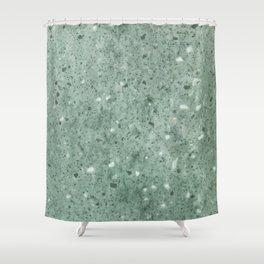 Jade Rock Sand Shower Curtain