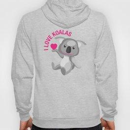 I Love Koalas Hoody