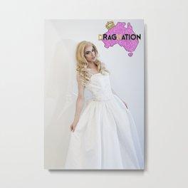 Dragnation Season 3 TAS-Pussy Poppins Metal Print