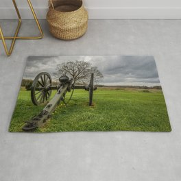 Chancelorsville Battlefield Civil War Battleground National Historic Site Virginia   Rug