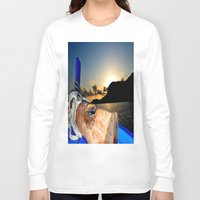 sunrise Long Sleeve T-shirts featuring sunrise by  Agostino Lo Coco