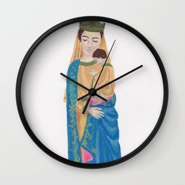 Madonna with child Wall Clock