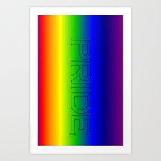 Pride. Art Print