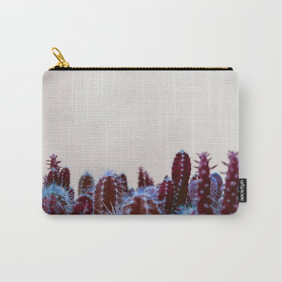 Abstract cactus Carry-All Pouch
