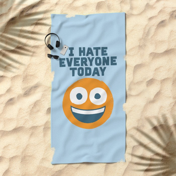 Loathe Is the Answer Beach Towel