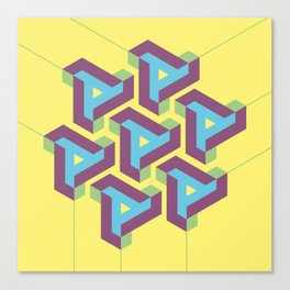 Geometric Play 08 Canvas Print