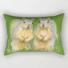 Squirrels-Brothers Rectangular Pillow