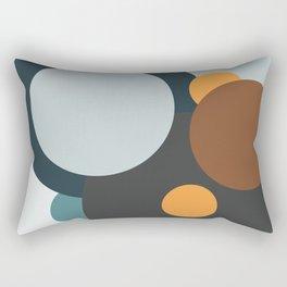 Going in Circles Rectangular Pillow