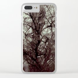 Cabsink17DesignerPatternMWT Clear iPhone Case