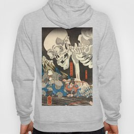 Utagawa Kuniyoshi - Takiyasha the Witch and the Skeleton Spectre Hoody