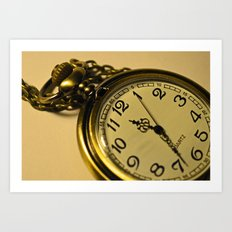 Pocketwatch Art Print
