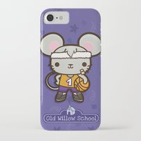 matty healy iPhone & iPod Cases featuring Matty the Sporty Mouse by Squid&Pig