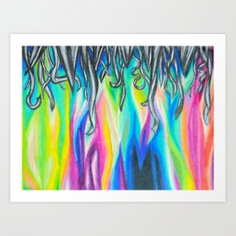magic and madness Art Print