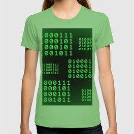Binary code for GEEK T-shirt