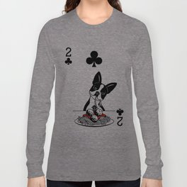 Delicious Deck: The 2 of Clubs Long Sleeve T-shirt