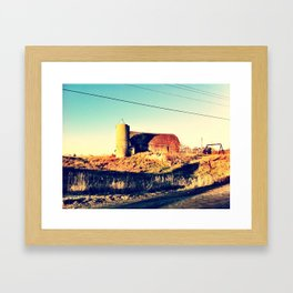 Barn of Ages Framed Art Print