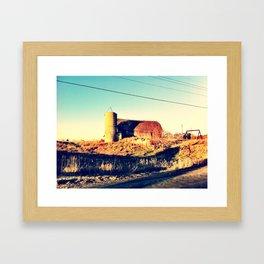 Barn of Ages Framed Art Print