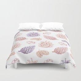 winter cone pattern II Duvet Cover