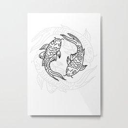 Lovefish 01 Metal Print