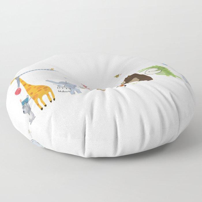 little parade Floor Pillow