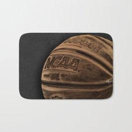 Colored Basketball Art Bath Mat