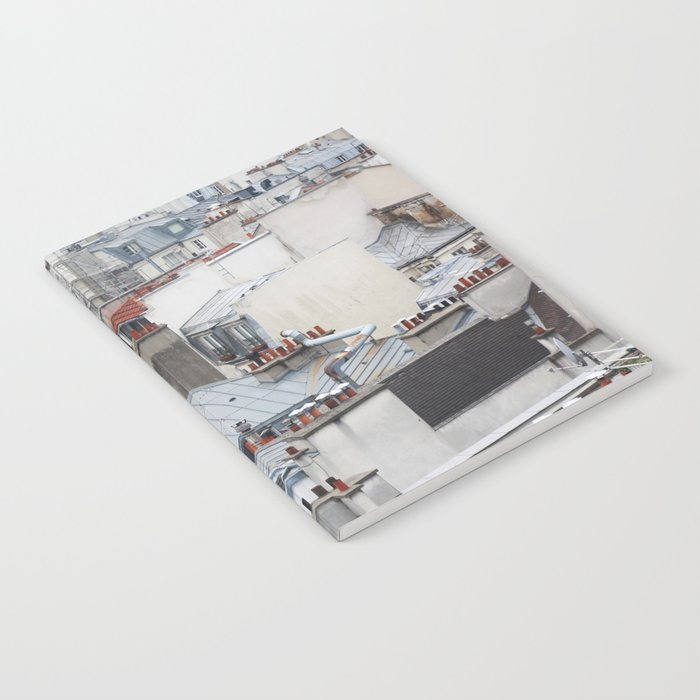 Paris rooftops Notebook