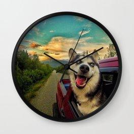 Boo's Cruise Wall Clock