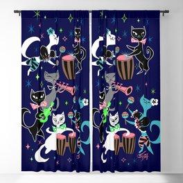Mambo Kitties Blackout Curtain