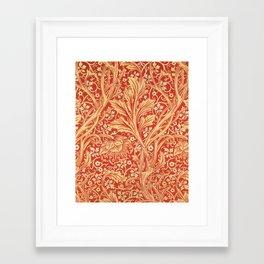 12,000pixel-500dpi - William Morris - Arcadia - Digital Remastered Edition Framed Art Print